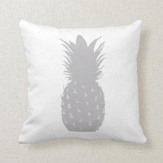 Modern Minimalist Grey Pineapple Cushion
