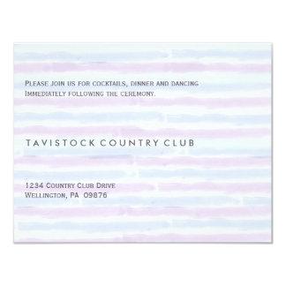 Modern Minimalist Wedding Reception Card 11 Cm X 14 Cm Invitation Card