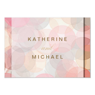 Modern Minimalist Wedding Response Cards 9 Cm X 13 Cm Invitation Card