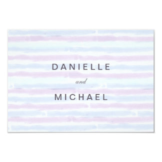 Modern Minimalist Wedding Response Cards 9 Cm X 13 Cm Invitation Card