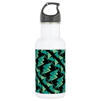 Modern Mirrored Geometric & Abstract Pattern 532 Ml Water Bottle