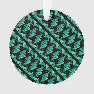 Modern Mirrored Geometric & Abstract Pattern Ornament