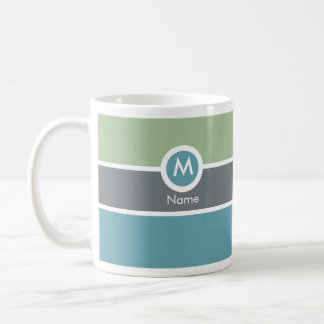 Modern Monogram Coffee Mug