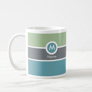 Modern Monogram Coffee Mug