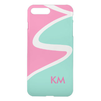 Modern Monogram Geometric Designg iPhone 8 Plus/7 Plus Case