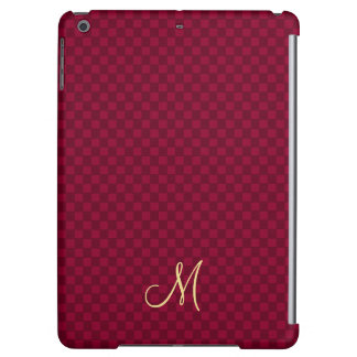 Modern Monogram Pattern iPad Air Slim Hard Case