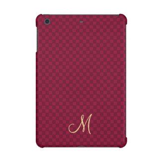 Modern Monogram Pattern iPad Mini Slim Hard Case