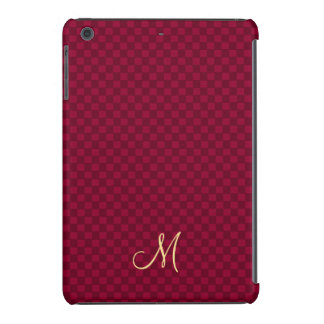Modern Monogram Pattern iPad Slim Fit Hard Case iPad Mini Retina Covers