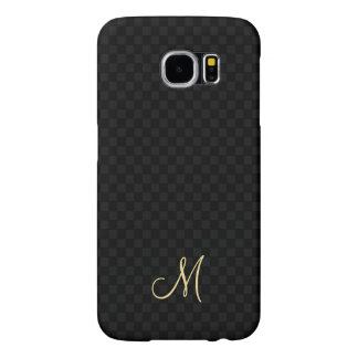 Modern Monogram Pattern Samsung Galaxy Hard Case