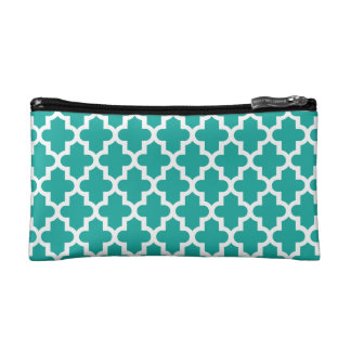 Modern Moroccan Pattern Cosmetic Bag