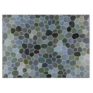 Modern mosaic pattern cutting board