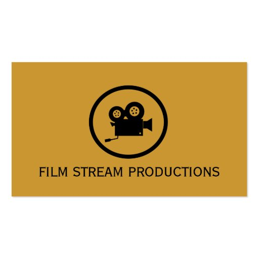 Modern Movie Director Film Producer Business Card Templates