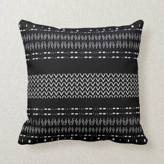 Modern Mudcloth Pattern Cushion