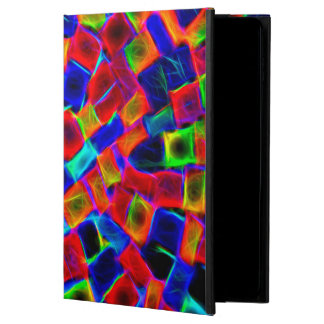 Modern Multi Color Neon Abstract Pattern Powis iPad Air 2 Case
