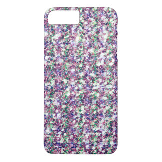 Modern Multicolor Glitter Texture Print iPhone 8 Plus/7 Plus Case