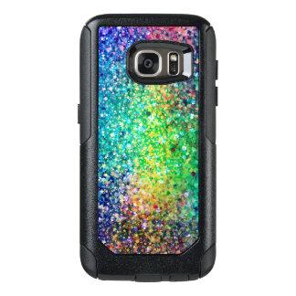 Modern Multicolor Glitter Texture Print OtterBox Samsung Galaxy S7 Case