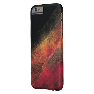 Modern Multicolored Brush Strokes Case (Black)