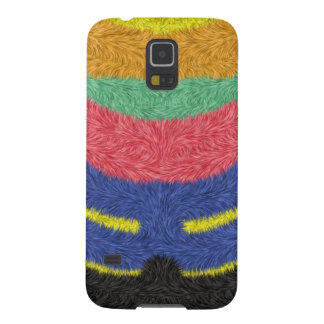 Modern multicolored pattern galaxy s5 covers