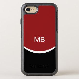 Modern Name Initials Monogram OtterBox Symmetry iPhone 8/7 Case