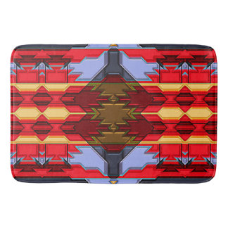 Modern Native American 5 Bath Mat