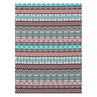 Modern Native American Tribal Aztec Pattern Tablecloth