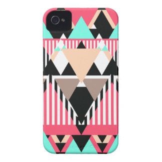 Modern Native Pattern iPhone 4 Case