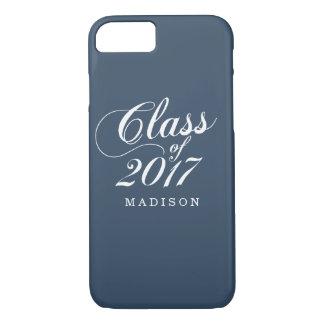 Modern Navy | Graduation iPhone 8/7 Case