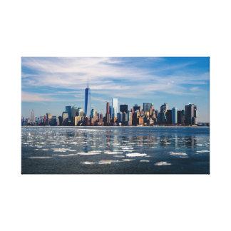 Modern New York City Skyline Canvas Print