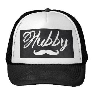 modern newlywed groom Mustache hubby Cap