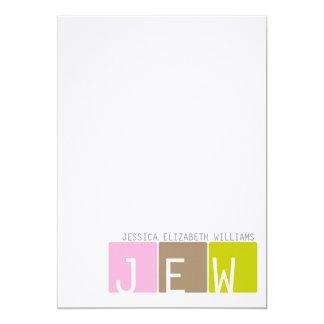 Modern Note Cards 13 Cm X 18 Cm Invitation Card