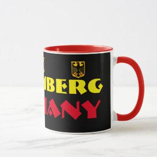 Modern Nuremberg Germany Coffee Mug