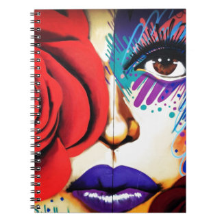 Modern NYC Street Art Notebook