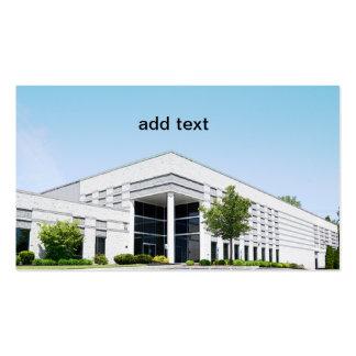 modern office building business card template