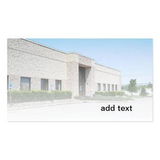modern office building business card templates