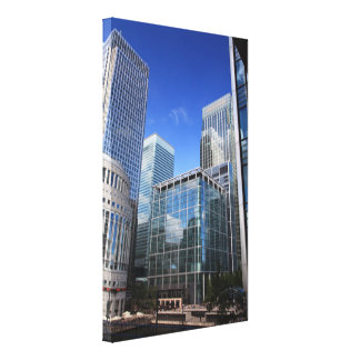 Modern Office Buildings Canvas Prints