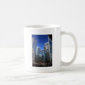 Modern Office Buildings Coffee Mugs