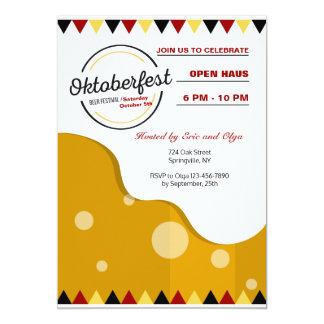 Modern Oktoberfest Invitation