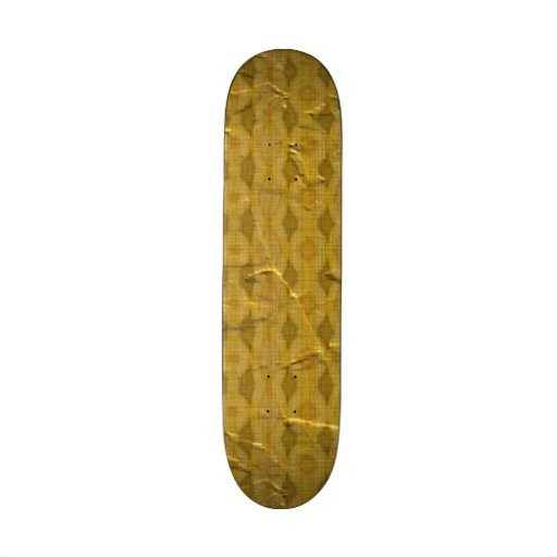 Modern old pattern skate board deck
