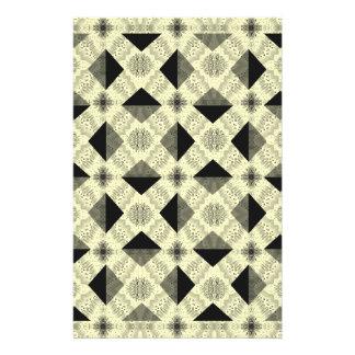 Modern Optical Illusion Pattern Personalised Stationery