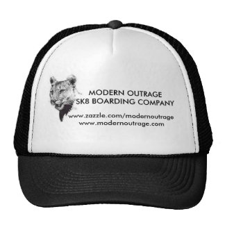 MODERN OUTRAGESK8 BOARDING cougar hats
