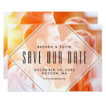 Modern Overlay | Photo Save the Date Announcement