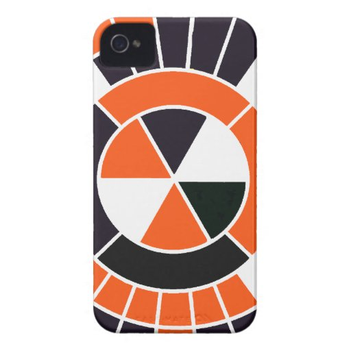 Modern OWB Abstract Graphic Design iPhone 4 Case-Mate Case
