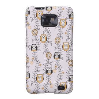 Modern Owls Samsung Galaxy S Case Galaxy S2 Case