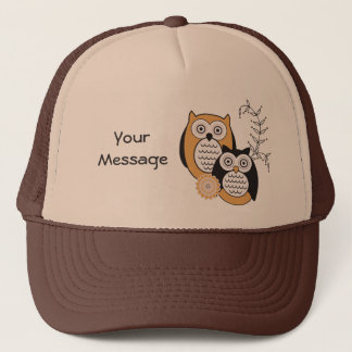 Modern Owls Trucker Hat