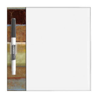 Modern Painting in Earth Tones by Norman Wyatt Dry Erase Board
