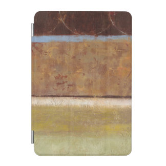 Modern Painting in Earth Tones by Norman Wyatt iPad Mini Cover