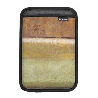 Modern Painting in Earth Tones by Norman Wyatt iPad Mini Sleeve