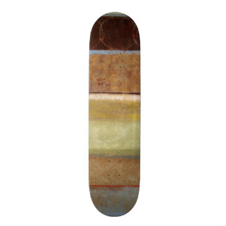 Modern Painting in Earth Tones by Norman Wyatt Skateboards