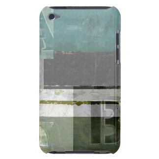 Modern Painting with Assorted Letters iPod Case-Mate Cases