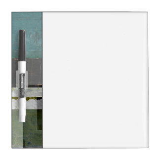 Modern Painting with Assorted Letters Dry Erase Board